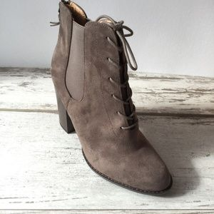Dress Boots Size 9 Lace up Booties NWT